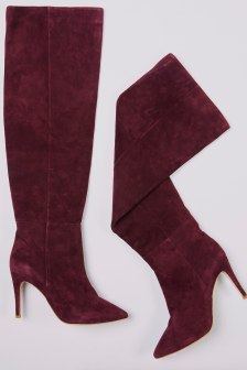 Plum boots from Joie